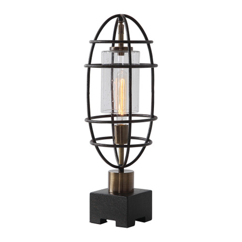 Uttermost Newton Industrial Accent Lamp by Jim Parsons