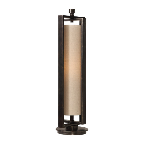 Uttermost Lanier Gun Metal Accent Lamp by Billy Moon