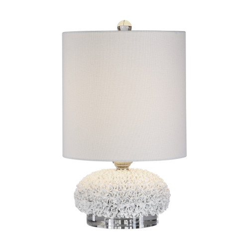 Uttermost Dellen White Buffet Lamp by David Frisch