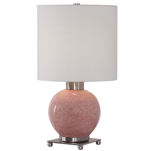 Uttermost Rhoda Soft Pink Buffet Lamp by Billy Moon