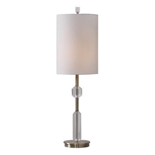 Uttermost Margo Cut Crystal Buffet Lamp by David Frisch