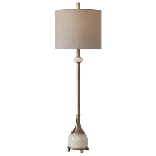 Uttermost Natania Plated Brass Buffet Lamp by Billy Moon