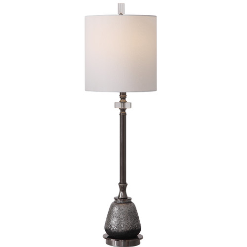 Uttermost Rana Silver Buffet Lamp by David Frisch