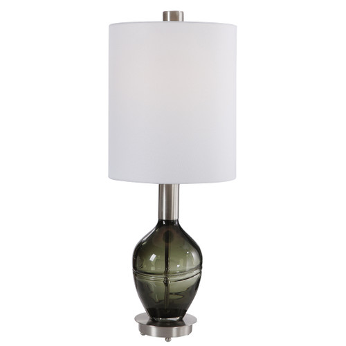 Uttermost Aderia Sage Green Accent Lamp by Carolyn Kinder