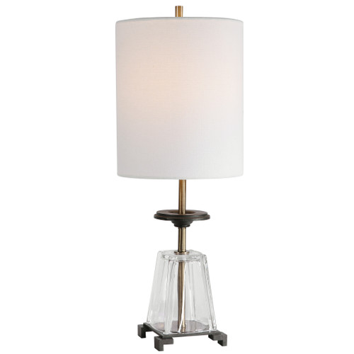 Uttermost Hancock Glass Accent Lamp by Matthew Williams