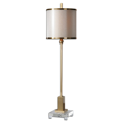 Uttermost Villena Brass Buffet Lamp by Carolyn Kinder