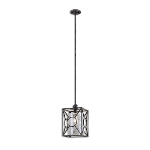 Uttermost Arbela 1 Light Mini Pendant by Carolyn Kinder