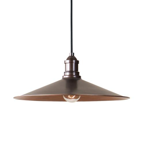 Uttermost Barnstead 1 Light Copper Pendant by Carolyn Kinder