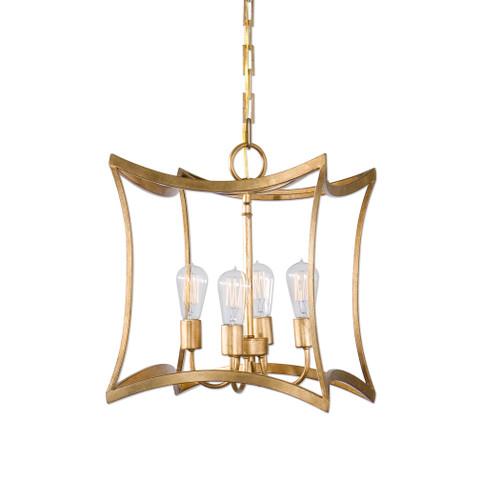 Uttermost Dore 4 Light Lantern Pendant by Carolyn Kinder