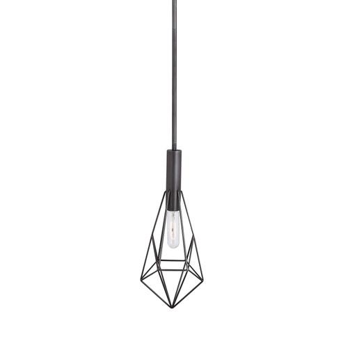 Uttermost Erebos 1 Light Geometric Mini Pendant by Kalizma Home