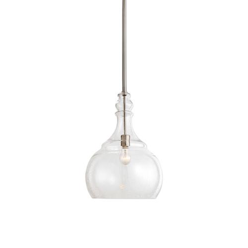 Uttermost Ilona 1 Light Seeded Glass Teardrop Pendant by Kalizma Home