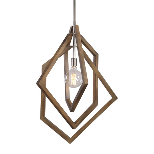 Uttermost Elroy 1 Light Modern Pendant by Kalizma Home