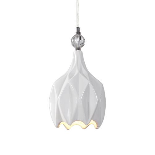 Uttermost Maleny 1 Light Mini Pendant by Renee Wightman