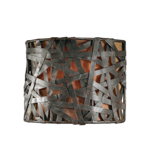 Uttermost Alita 1 Light Black Wall Sconce by Carolyn Kinder
