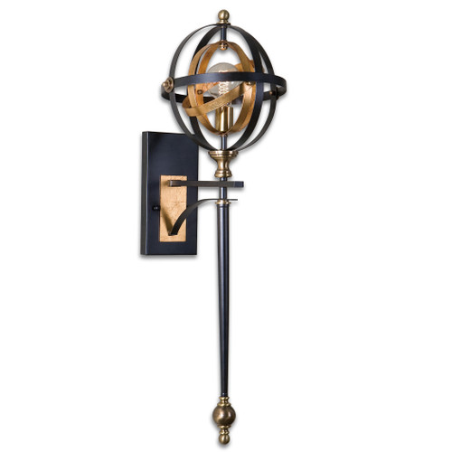 Uttermost Rondure 1 Light Oil Rubbed Bronze Sconce by Carolyn Kinder