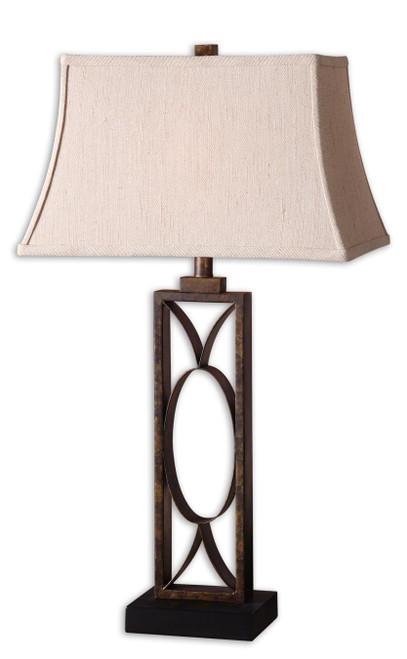 Uttermost Manicopa Bronze Table Lamp by David Frisch