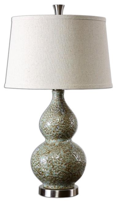 Uttermost Hatton Ceramic Lamp by Billy Moon