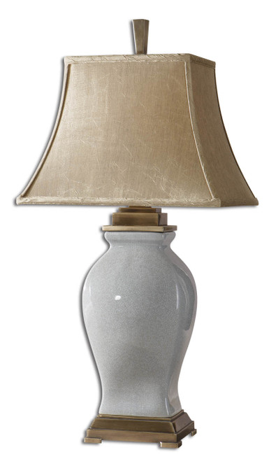 Uttermost Rory Sky Blue Table Lamp by Carolyn Kinder