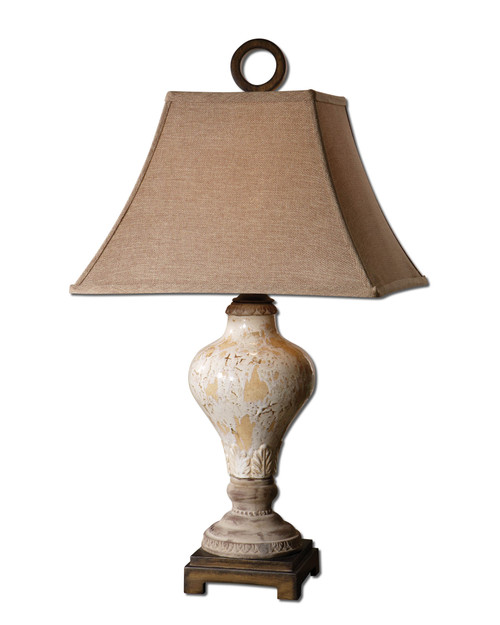 Uttermost Fobello Ivory Table Lamp by Carolyn Kinder
