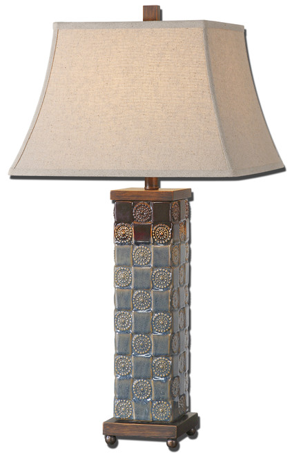 Uttermost Mincio Ceramic Table Lamp by David Frisch