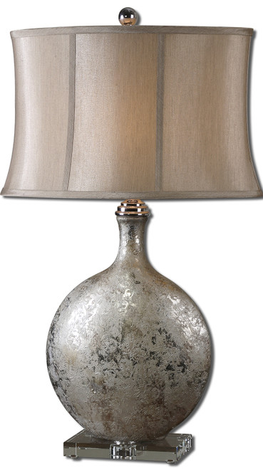 Uttermost Navelli Silver Table Lamp by David Frisch