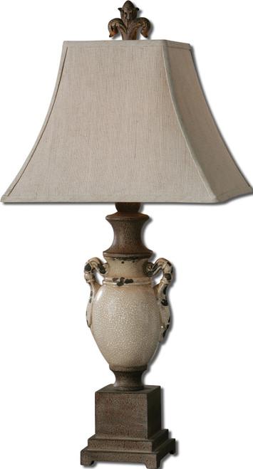 Uttermost Francavilla Ivory Table Lamp by Carolyn Kinder
