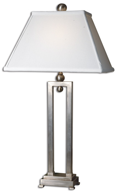 Uttermost Conrad Silver Table Lamp by Carolyn Kinder