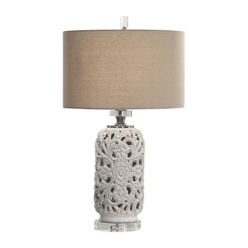 Uttermost Dahlina Ceramic Table Lamp by David Frisch