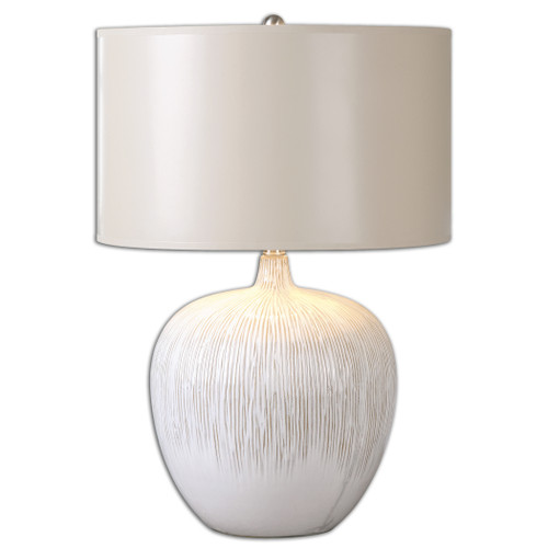 Uttermost Georgios Textured Ceramic Lamp