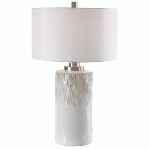 Uttermost Georgios Cylinder Table Lamp by Carolyn Kinder