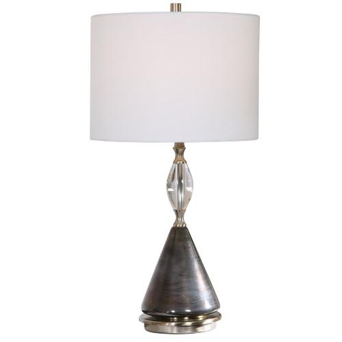 Uttermost Cavalieri Dark Bronze Table Lamp by David Frisch