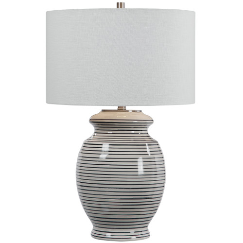 Uttermost Marisa Off White Table Lamp by David Frisch
