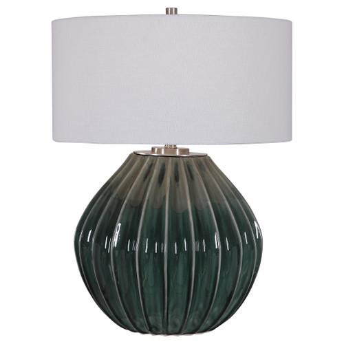 Uttermost Rhonwen Green Table Lamp by Jim Parsons