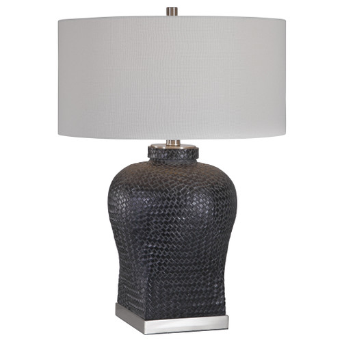 Uttermost Akello Weave Texture Table Lamp by Jim Parsons