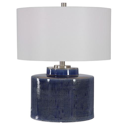 Uttermost Monterey Blue Table Lamp by Jim Parsons
