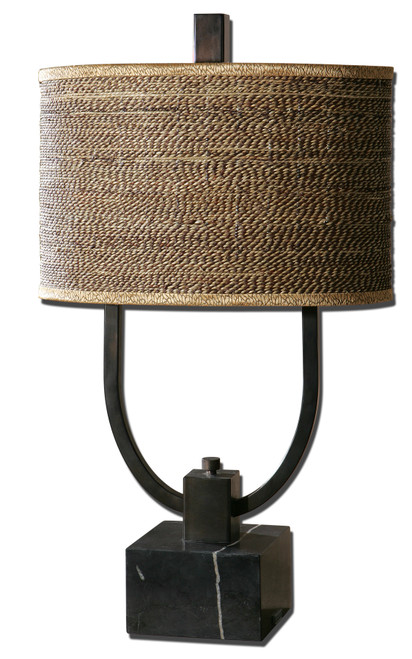 Uttermost Stabina Metal Table Lamp by Carolyn Kinder