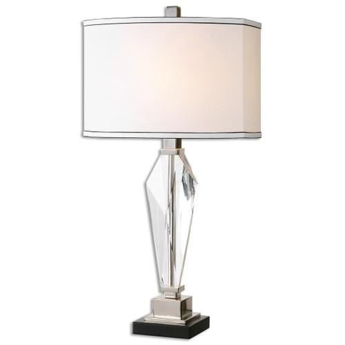 Uttermost Altavilla Crystal Table Lamp by Billy Moon