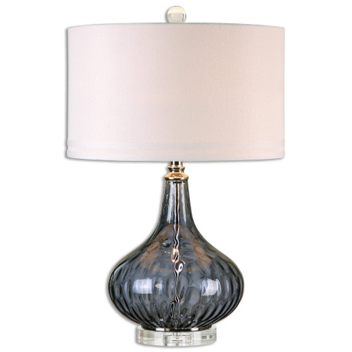 Uttermost Sutera Water Glass Table Lamp by Jim Parsons
