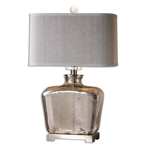 Uttermost Molinara Mercury Glass Table Lamp by David Frisch
