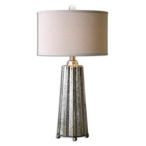 Uttermost Sullivan Mercury Glass Table Lamp by Jim Parsons