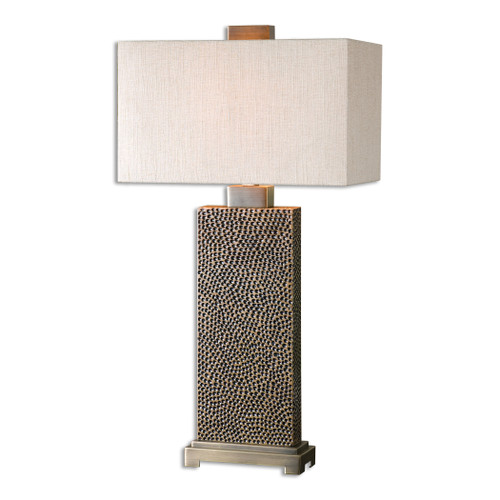 Uttermost Canfield Coffee Bronze Table Lamp by Carolyn Kinder
