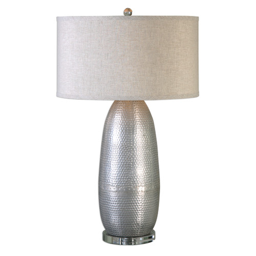 Uttermost Tartaro Industrial Silver Table Lamp by Jim Parsons