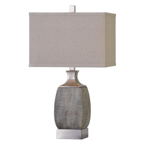 Uttermost Caffaro Rust Bronze Table Lamp by Billy Moon