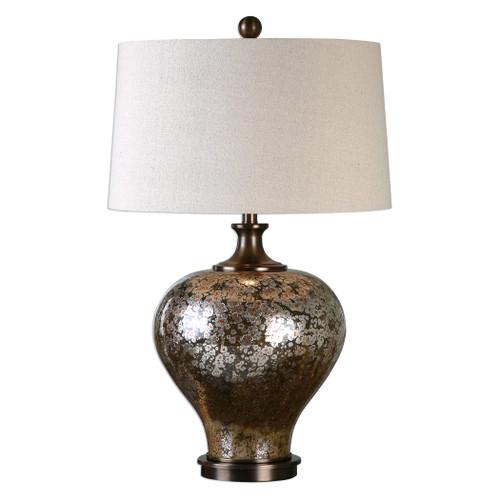 Uttermost Liro Mercury Glass Table Lamp by David Frisch
