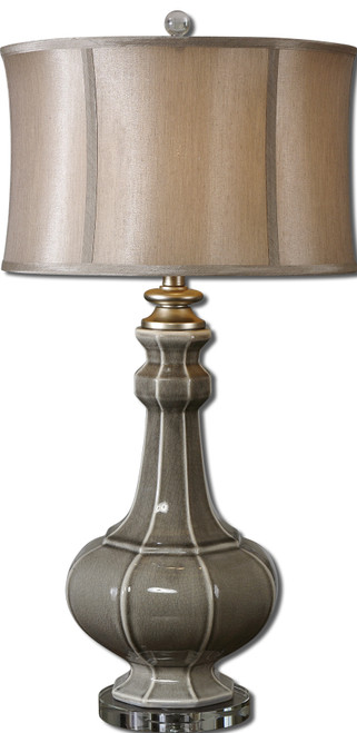 Uttermost Racimo Gray Table Lamp by David Frisch