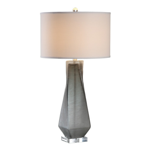 Uttermost Anatoli Charcoal Gray Table Lamp by Jim Parsons