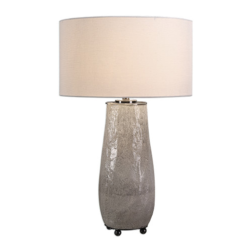 Uttermost Balkana Aged Gray Table Lamp by Jim Parsons