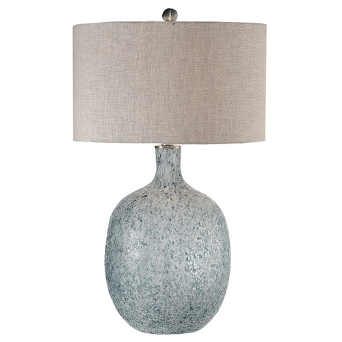 Uttermost Oceaonna Glass Table Lamp by Carolyn Kinder