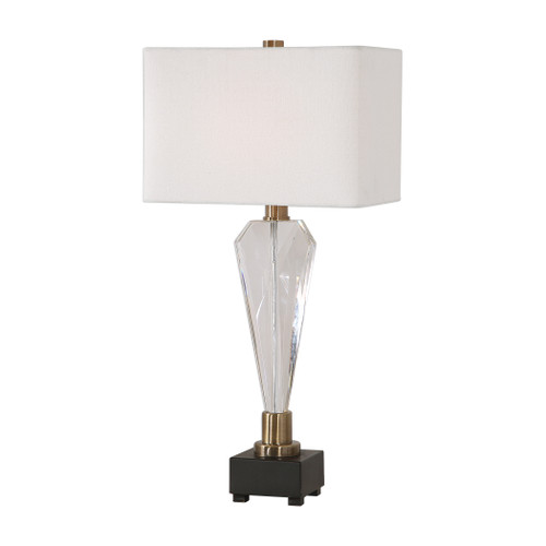 Uttermost Cora Geometric Crystal Table Lamp by David Frisch