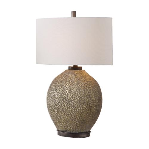 Uttermost Aker Golden Bronze Table Lamp by David Frisch
